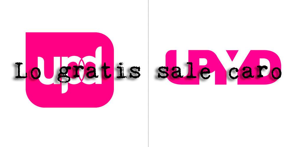 """Lo gratis sale caro. El nuevo logo de UPYD creado por """"profesionales"""" voluntarios."""